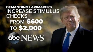 Trump refuses to sign stimulus package