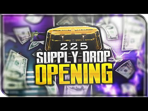OPENING 225 ADVANCED SUPPLY DROPS! (Double Legendary Supply Drops)