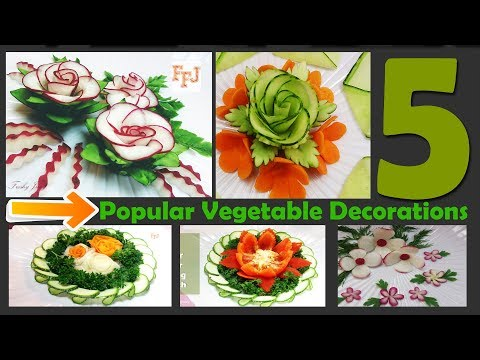 5 Brilliant Vegetable Decorations You Really Need to See