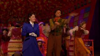"""Supercalifragilisticexpialidocious!"" from MARY POPPINS on Broadway"