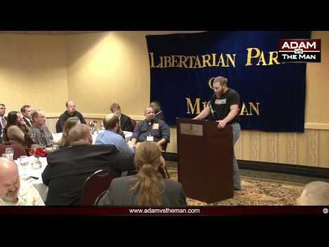 AVTM on Zen Libertarianism at Michigan LP Convention