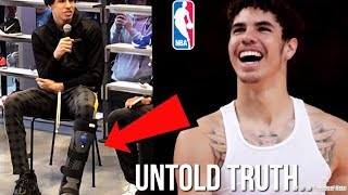 The Untold Truth About LaMelo Ball NBA Draft Stock After His Foot Injury...