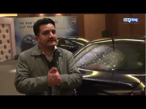 New Fiat Linea video review at Auto Expo 2012 from CarToq.com