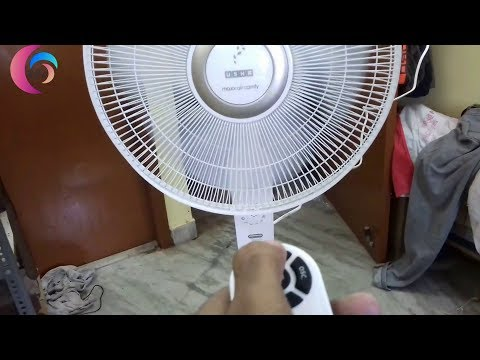 Usha Maxx Air Comfy 400mm Pedestal Fan with Remote (White) review