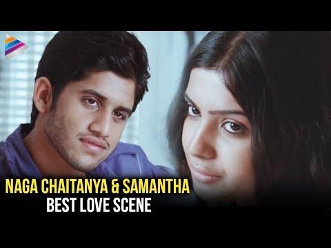 Samantha & Naga Chaitanya Love Scene   Ye Maya Chesave Movie Love Scenes   Telugu Filmnagar