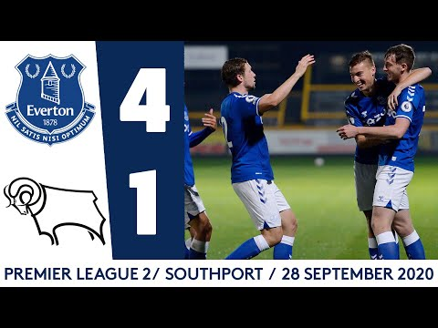U23S HIT DERBY FOR FOUR   EVERTON 4-1 DERBY COUNTY