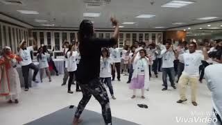 Samida's Dance Fitness Session @UNDP Program Resimi