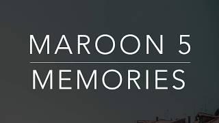 Download lagu Maroon 5 Memories