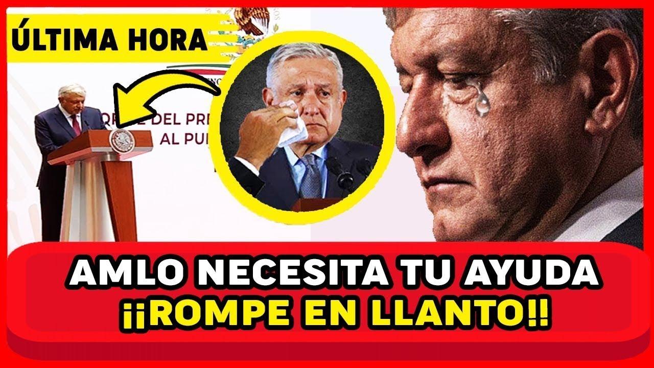 ESTO ES GR4V3! AMLO SALE DE URG3NCI4! REVELA 2 TR1ST3S N0TICIAS! FGR ENCONTRÓ ESTO MEXICO EN SH0CK