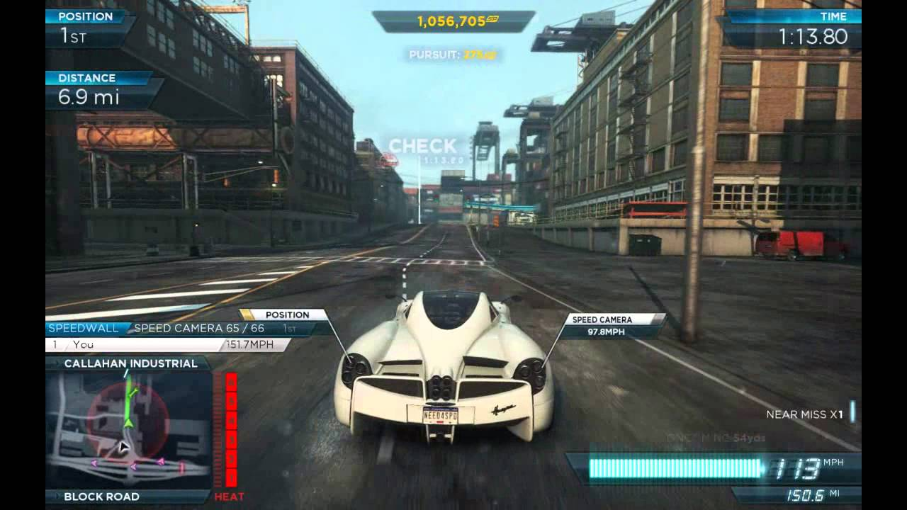NFS Most Wanted Criterion Pagani Huayra VS Koenigsegg Agera R (First