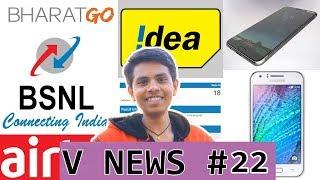 V News #22 - Samsung J4, Nokia 4, Android go smartphone, BSNL 2 New Plans, Airtel 1 year plan
