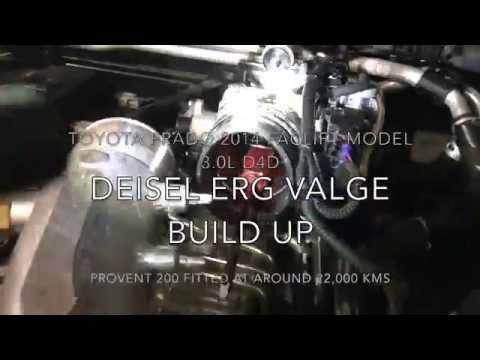 Toyota Prado D4D EGR Build up