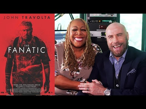 Patty Jackson: Patty TV - John Travolta stops by our WDASFM studios #TheFanatic