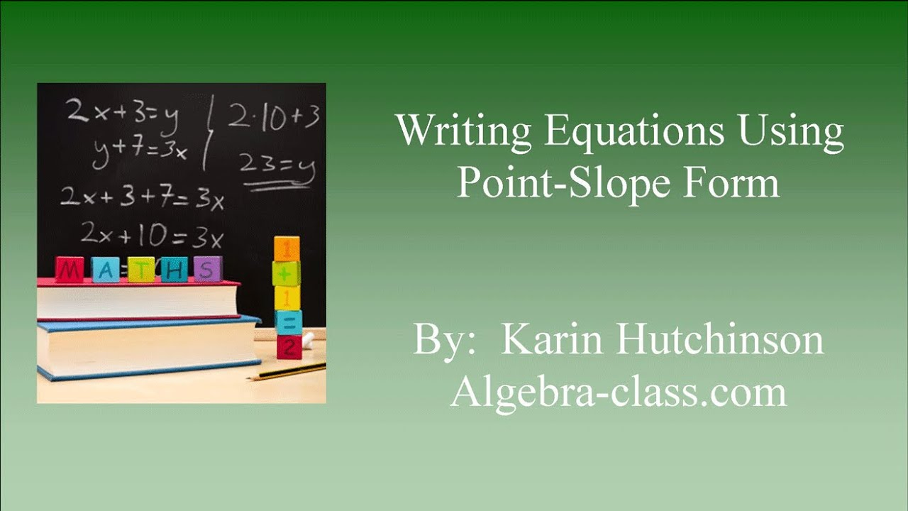 Point slope form writing equations in point slope form given two point slope form writing equations in point slope form given two points falaconquin