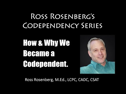"""The Origins of Codependency Codependency. """"Human Doings"""" Because of Narcissistic Parents. Expert"""