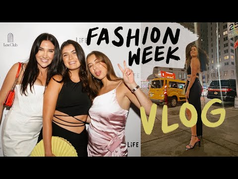 VLOG: Crazy fashion week parties + a staycation!