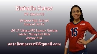 Natalie Perez - Libero/DS 2017 Season Update (c/o 2018)