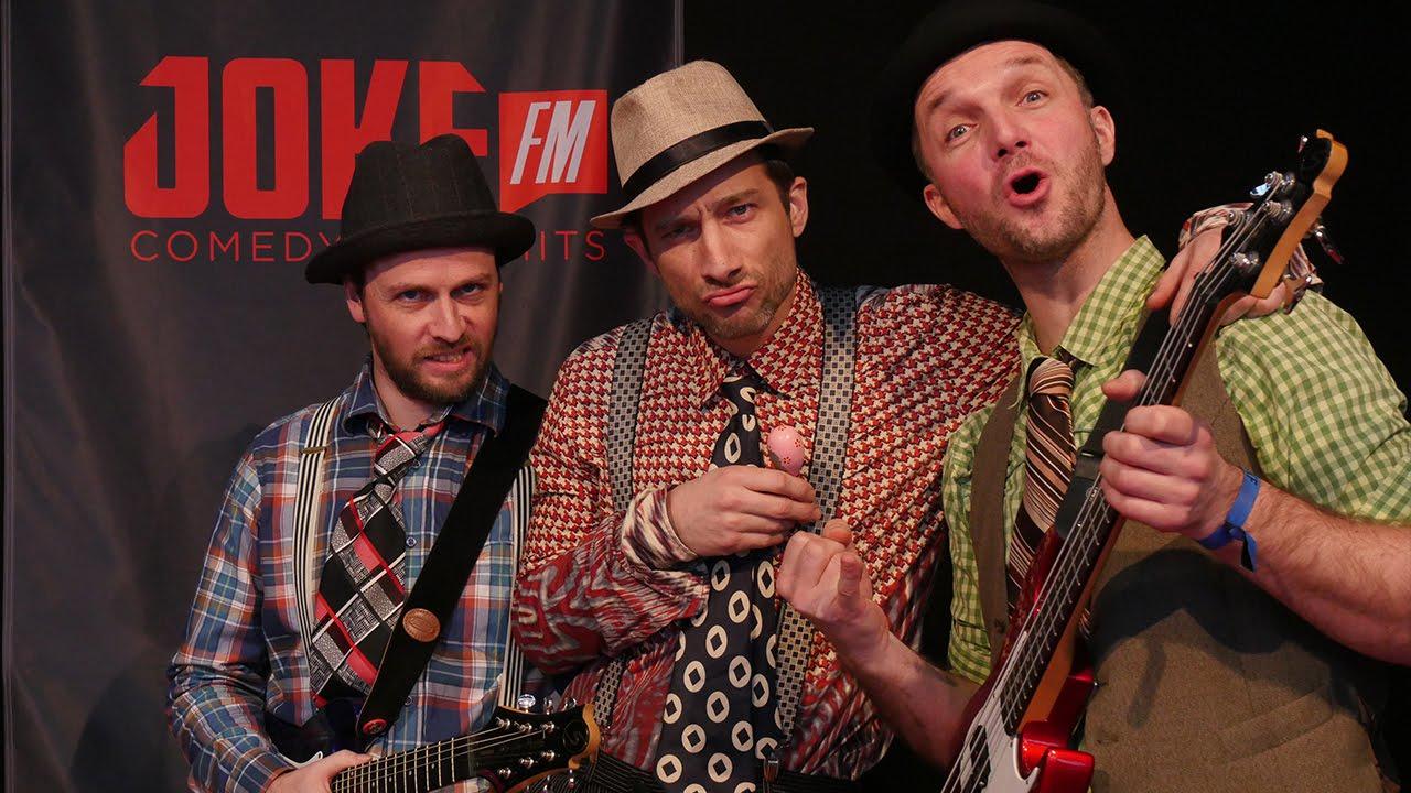 """Liveauftritt von """"The Matchbox Big Band"""" bei JOKE FM - YouTube"""