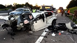 Car Crash Compilation 2013 , Malaysia , HQ