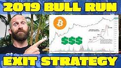 BITCOIN BULL RUN 2019 - My Cash Out Strategy 💰