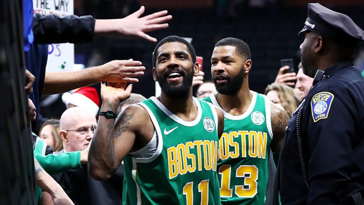 356bb128e0dd Kyrie Irving 40 Pts Christmas Clutch 3s OT vs 76ers! 2018-19 NBA Season