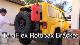 "Teraflex Rotopax Hi-lift Handle Mounting Bracket - ""newere4x4"""