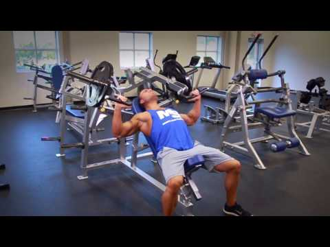 Hammer Strength Machine Incline Bench Press: Video Exercise