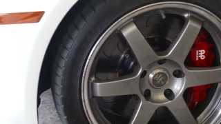 Track-Ready 50-0 BMW Brake Test CORRECTED -- AFTER/DRIVE