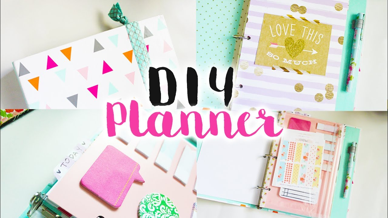 graphic relating to Planner Supplies identified as Do-it-yourself Planner Resources + Add-ons