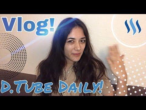 Daily-Vlog #1 - Ein neues Projekt!// Vloggen auf d.tube?