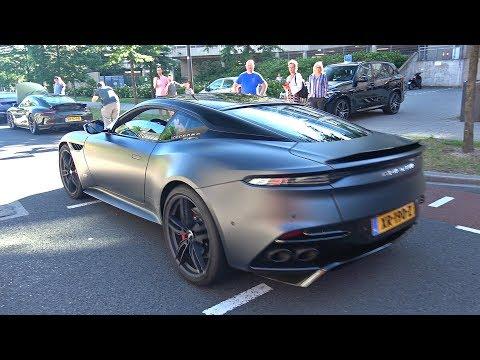 Aston Martin DBS Superleggera - Lovely Exhaust Sounds!