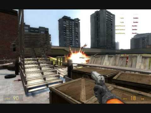 Garry's Mod: Zombie Last Stand Barricade