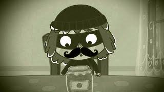 Малыши и Летающие Звери - Грабитель - Веселый развивающий, обучающий мультфильм