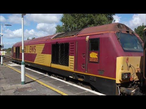 67021 & 012 (1Z88 & 1Z89 Orient Express) @ Chichester & Barnham - 4/8/17