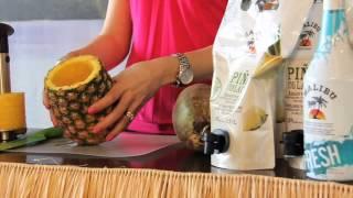 Malibu Rum Piña Coladas
