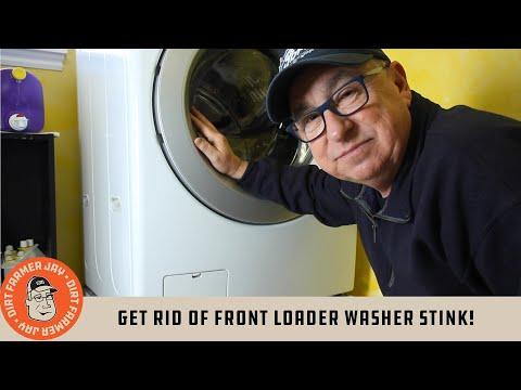 Get Rid of Front Loader Washer Stink!