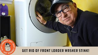 Get Rid Of Front Loader Washer Stink!