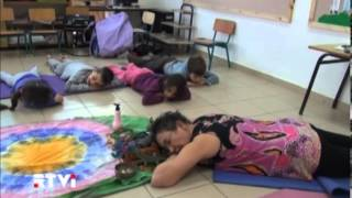Израиль за неделю: репортаж - детская йога