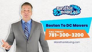 Boston To DC Movers | 7813003200 | Marathon Moving