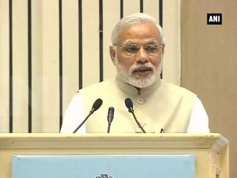 PM Modi confident about economic viability of solar energy - Part 1