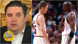 Fighting Steve Kerr was a wakeup call for Michael Jordan – Brian Windhorst | The Jump