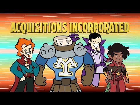 Acquisitions Incorporated Live - PAX Unplugged 2018