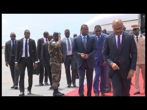 Présidence : Arrivée du Président Togolais  Faure Gnassingbé