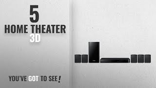 Top 5 Home Theater 3D [2018]: Samsung HT-J4500 5.1 Channel 500 Watt 3D Blu-Ray Home Theater System