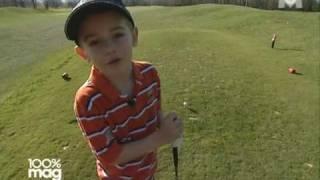Portrait de Tom Guéant, prodige du golf