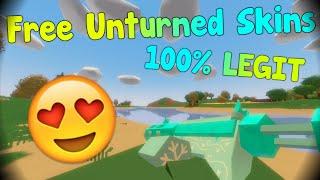 Unturned   FREE SKINS 100% LEGIT
