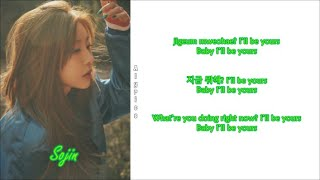 Girl's Day (걸스데이) - I'll be yours (Rom~Han~Eng) Color & …