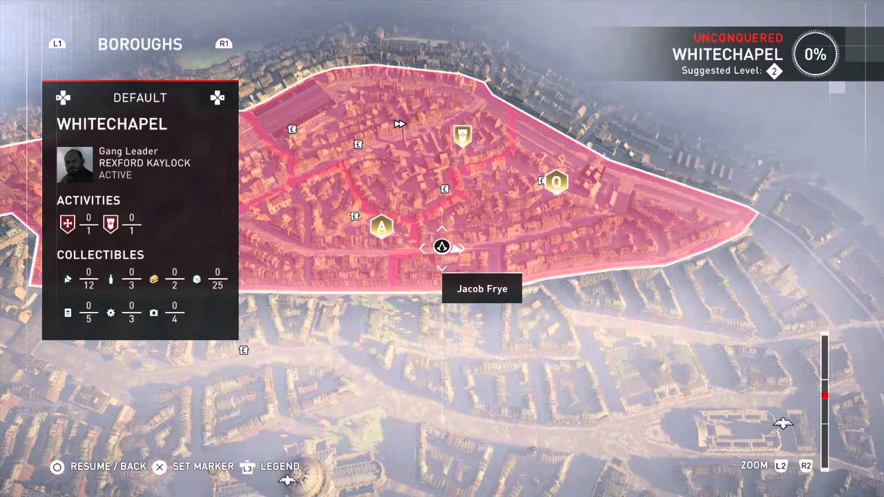 Assassin S Creed Syndicate Map Size Just A Quick Overhead Look