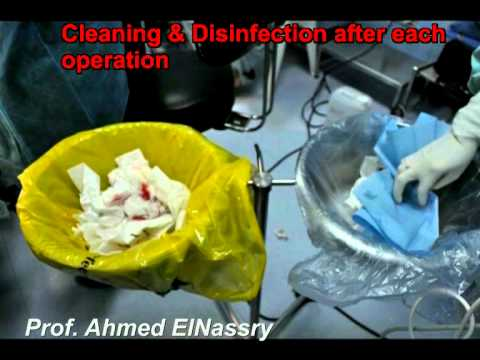 Infection Control Protocol Apllied in Pediatric Dentistry Opearting Room; Role of Dental Assistant.