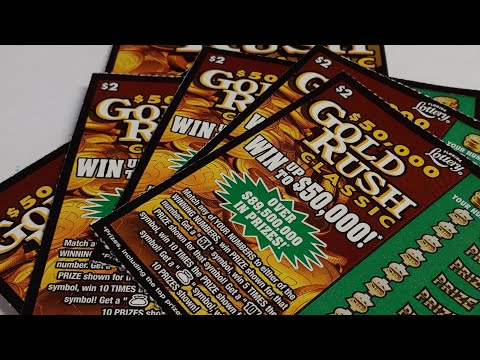 Florida Lottery: $20 Session Gold Rush Classic